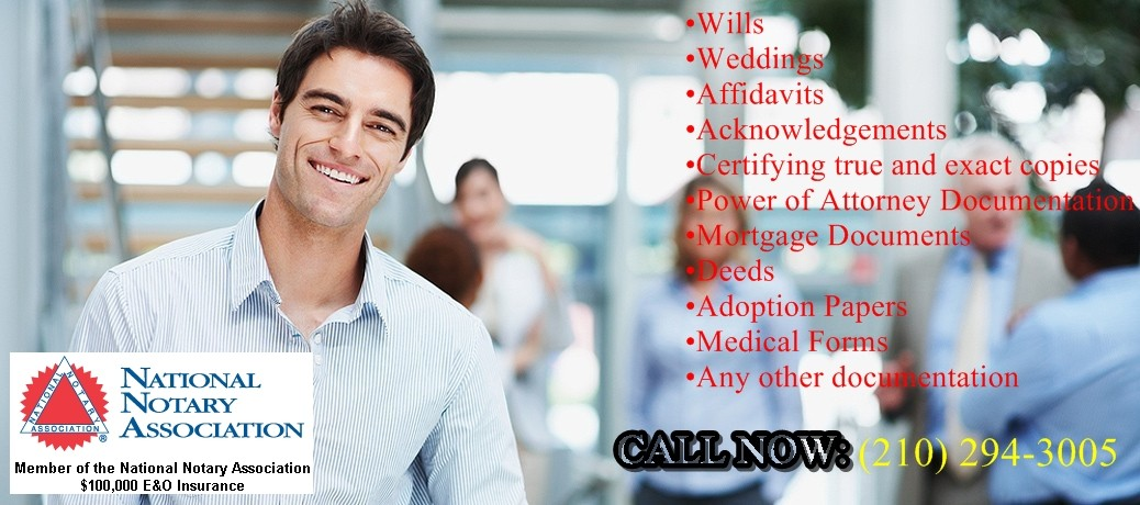 San Antonio Mobile Notary